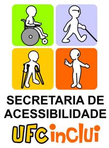 logo da secretaria de acessibilidade UFC INCLUI