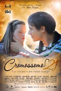 """Cartaz do filme """"Cromossomo 21"""""""