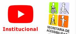 vídeo institucional da Secretaria de Acessibilidade